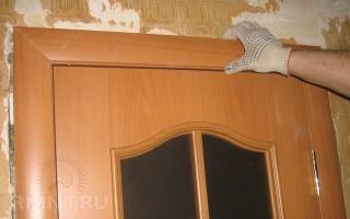 Как самому установить межкомнатную дверь