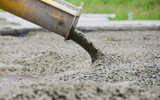 Использование бетона на стройке