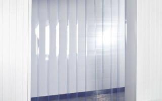 Полосовые пвх завесы: удобно, выгодно, эффективно
