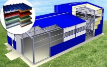 Быстровозводимые здания: главные преимущества