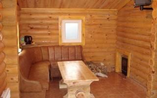 Выбор древесины для оформления бани